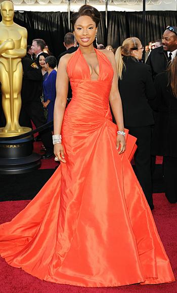 Jennifer Hudson - Versace - Oscars 2011 - Academy Awards