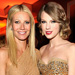 2011 Academy Awards - Oscars After-Parties - Gwyneth Paltrow and Taylor Swift