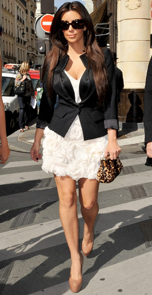 Kim Kardashian's 7 Style Must-Haves - A Black Blazer