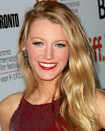 Blake Lively - 25 Stars In Red Lipstick - Red Lips