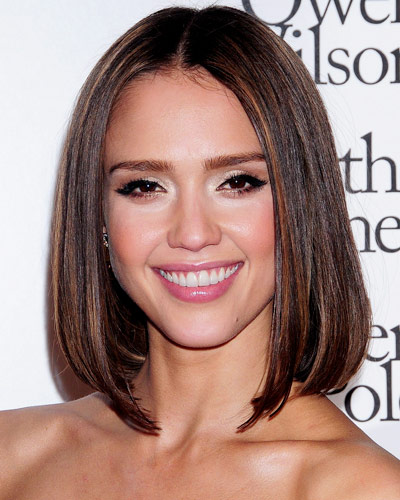 Chestnut Brown Hair Color with Highlights