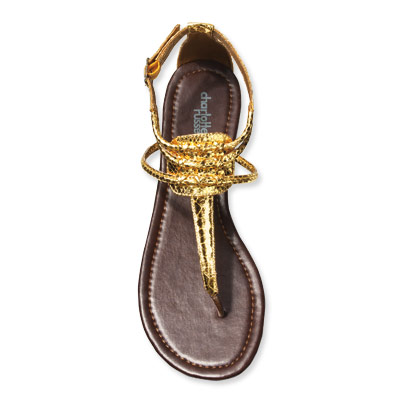 Gold Sandals, [DOLLAR]16