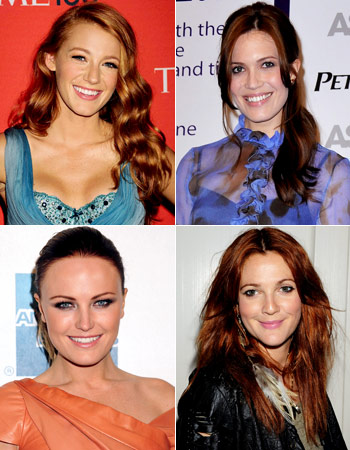 Blake Lively Mandy Moore Drew Barrymore Malin Akerman