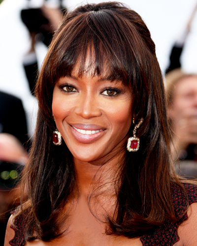Naomi Campbell - Deep Wispy Bangs - Our 7 Favorite Summer Haircuts