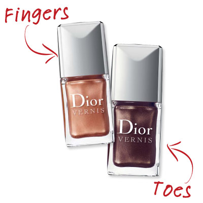 Jenna Hipp - Deep Shimmer - Cute Nail Polish Combos for Your Fingers and Toes