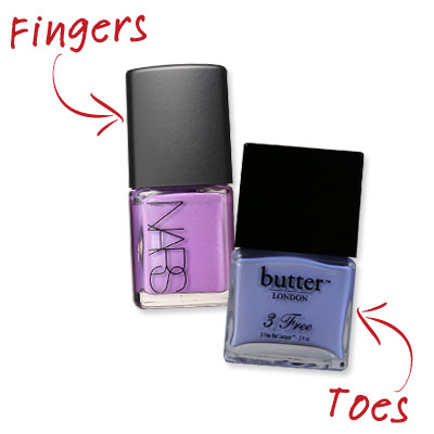 April Foreman - Complementary Tones - Cute Nail Polish Combos for Your Fingers and Toes