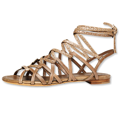 Donna Karan Spring Vacchetta Calf Sandal 