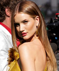 Rosie Huntington-Whiteley - Transformers 3 Moscow - blush