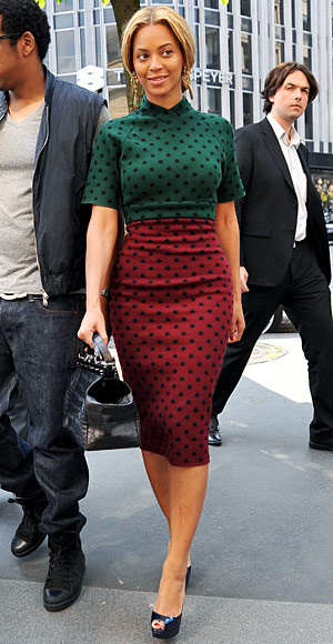 Beyonce - Marc Jacobs - Curvy - Colorblock - Look Your Best