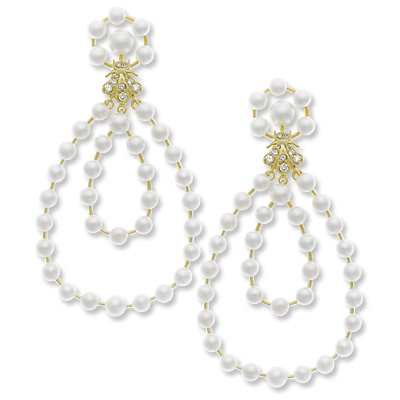 Slane pearl earrings