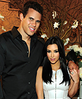 Kim Kardashian's Engagement Party