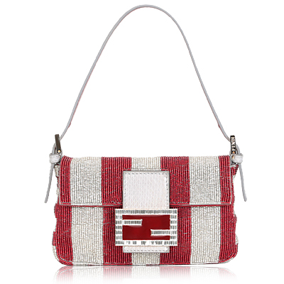 Fan di Fendi beaded baguette