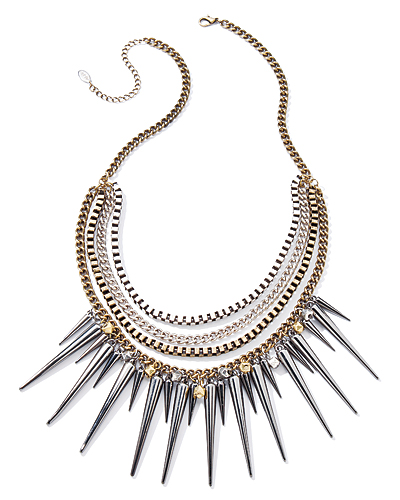 A Spikey Necklace