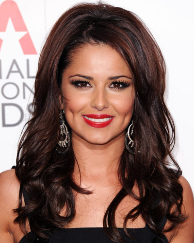 Cheryl Cole - 25 Stars in Red Lipstick - Red Lips
