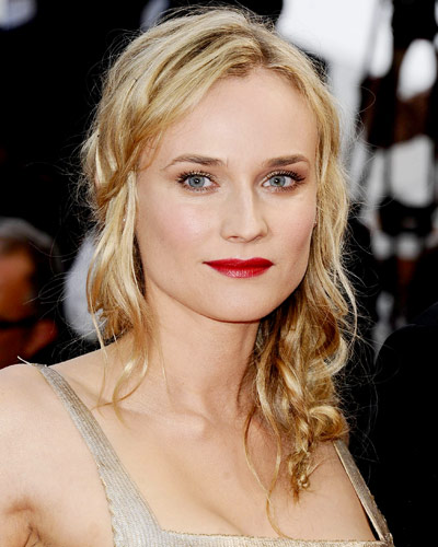 Diane Kruger - 25 Stars in Red Lipstick - Red Lips