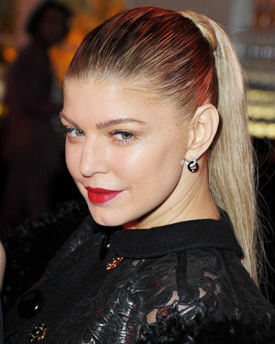 Fergie - 25 Stars in Red Lipstick - Red Lips