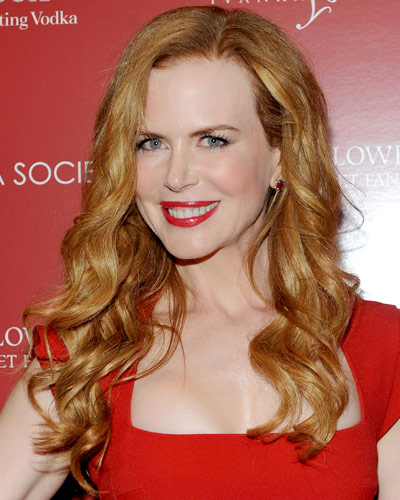 Nicole Kidman - 25 Stars in Red Lipstick - Red Lips
