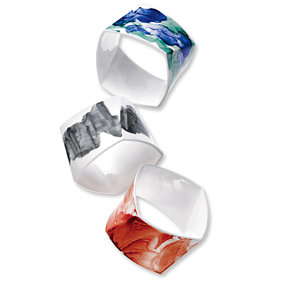 Tiffany & Co. Gehry Watercolor Bangles