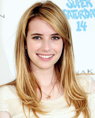 Emma Roberts - The 9 Hottest Hair Colors for Fall 2011 - Honey Blond