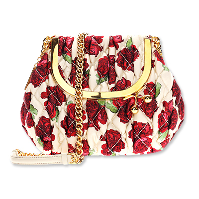 Moschino Quilted Coin Purse Cross Body Bag