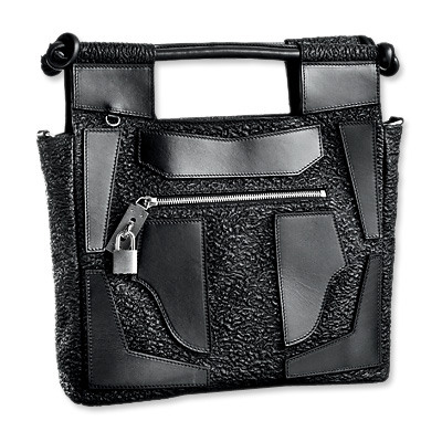 Etro Leather Cut Out Bag