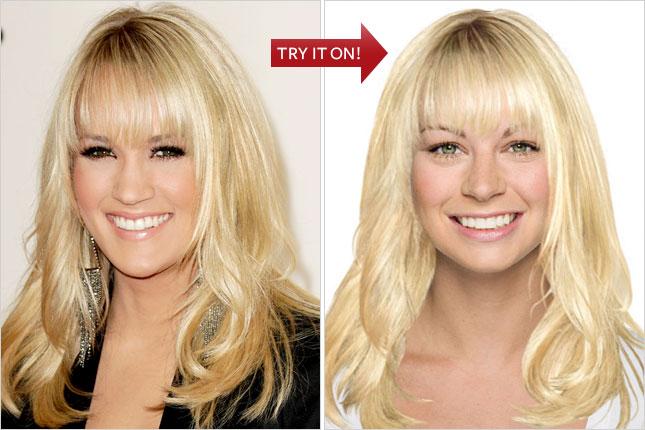 Hollywood Hair Virtual Makeover