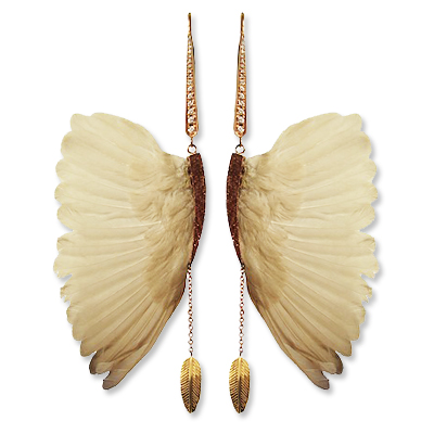 Daniela Villegas Wing Earrings