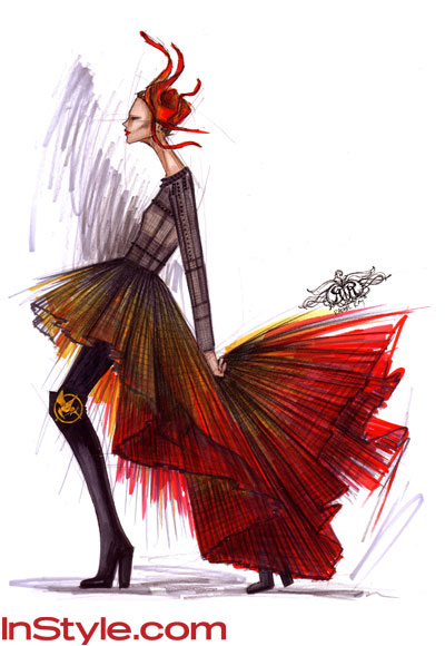 Fashion Designers Sketch Katniss's Fire Dress!: www.instyle.com/instyle/package/general/photos/0,,20542054_20549206...