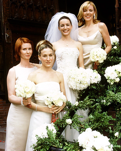 Satc Bridesmaid Dresses 88