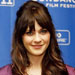#10 Zooey Deschanel's Half Updo