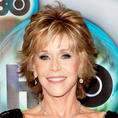 Jane Fonda - Transformation - Hair - Celebrity Before and After