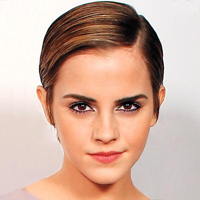 Emma Watson Boy Cut