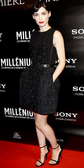 Rooney Mara in Louis Vuitton