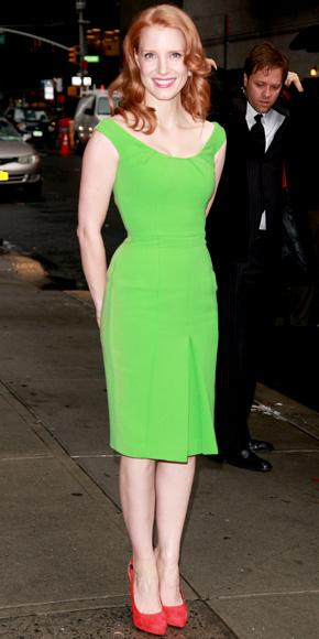 Jessica Chastain in Karen Caldwell