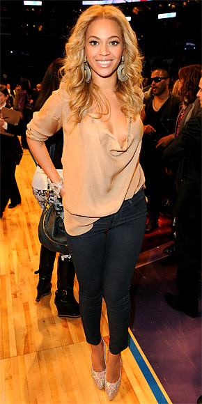 Beyonce in J Brand