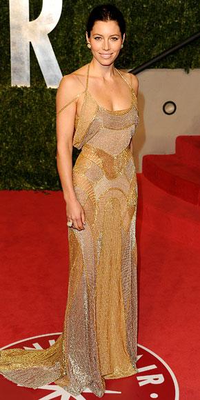 Jessica Biel in Atelier Versace