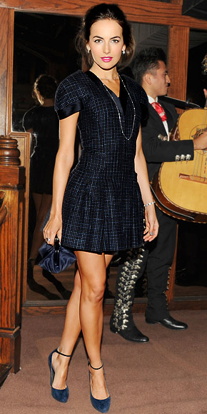 Camilla Belle in Chanel