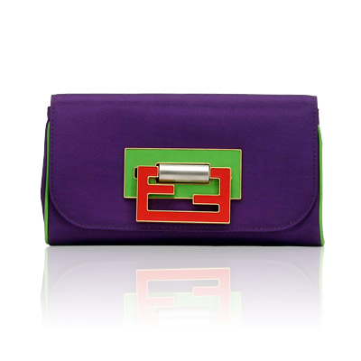 Fendi Fun di Fendi Clutch
