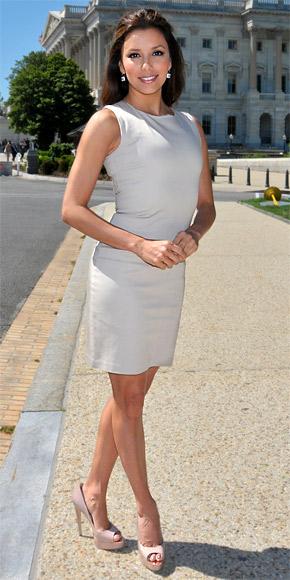 Eva Longoria in Brian Atwood