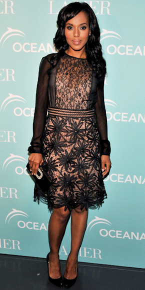Kerry Washington in Valentino