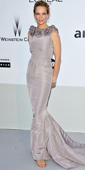 Uma Thurman in Chanel Haute Couture