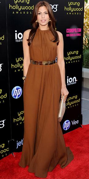 Eva Mendes in Lanvin