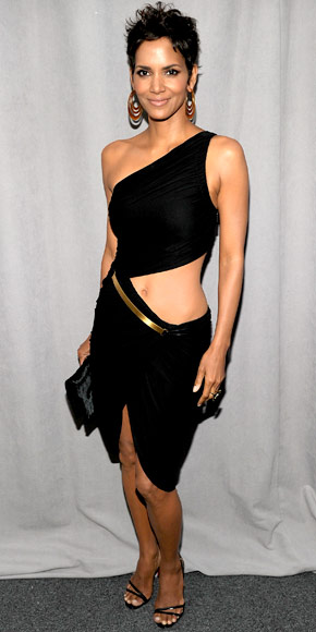 Halle Berry in Halston