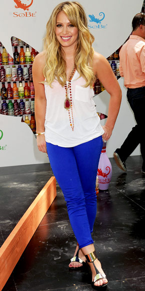 Hilary Duff in J Brand