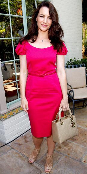 Kristin Davis in Christian Dior