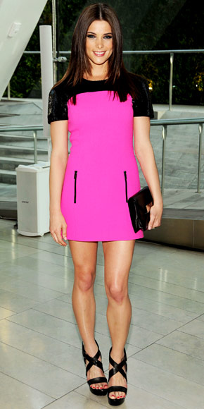 Ashley Greene in Michael Kors
