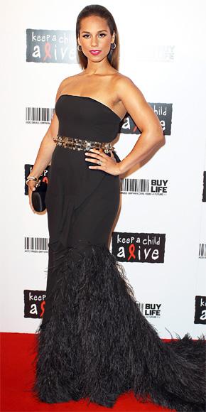 Alicia Keys in Givenchy by Riccardo Tisci