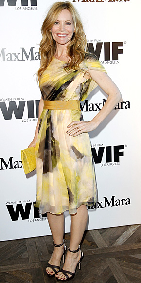 Leslie Mann in Max Mara
