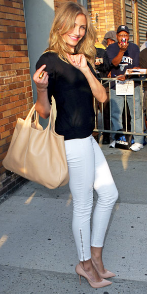 Cameron Diaz in J Brand Denim