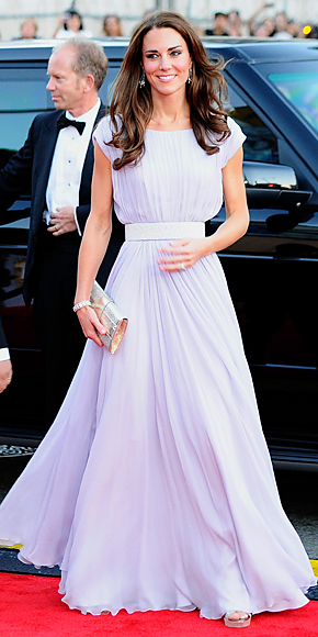 Catherine Middleton in Alexander McQueen